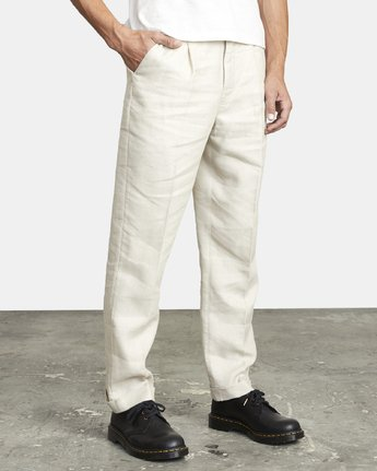 6 ALL TIME LOMAX MODERN STRAIGHT FIT PANT Silver M3063RLO RVCA