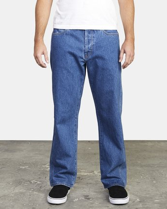 0 AMERICANA RELAXED FIT DENIM Multicolor M3073RAM RVCA