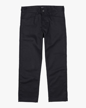 7 NEW DAWN PRESSED PANT Black M3073RPR RVCA