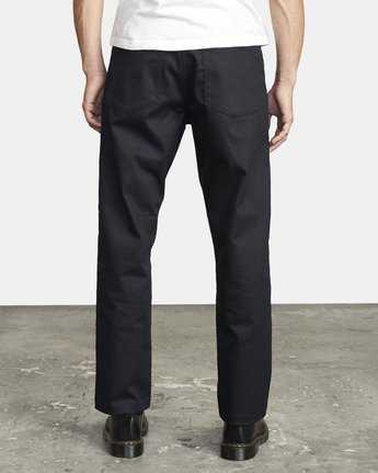2 NEW DAWN PRESSED PANT Black M3073RPR RVCA