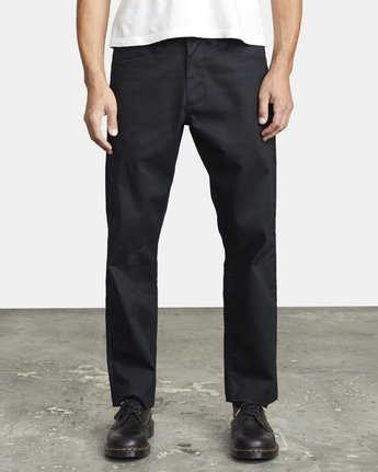 1 NEW DAWN PRESSED PANT Black M3073RPR RVCA