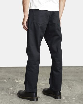 4 NEW DAWN PRESSED PANT Black M3073RPR RVCA