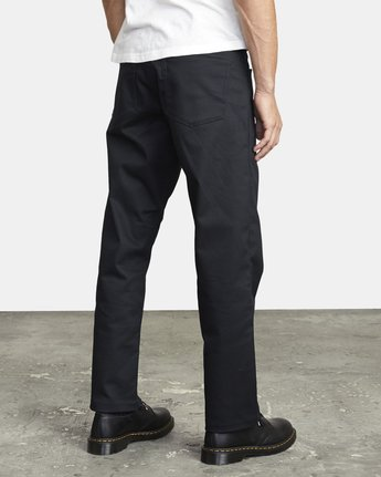 5 NEW DAWN PRESSED PANT Black M3073RPR RVCA
