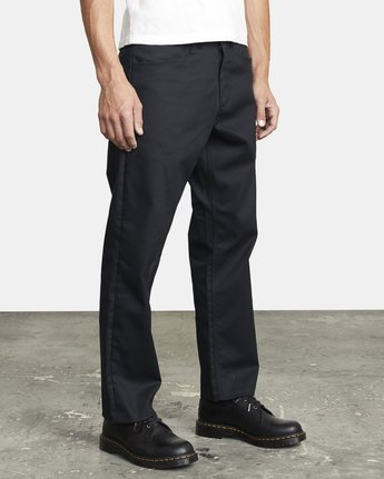 6 NEW DAWN PRESSED PANT Black M3073RPR RVCA