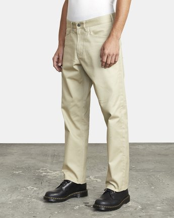 4 NEW DAWN MODERN STRAIGHT FIT PANT Beige M3073RPR RVCA
