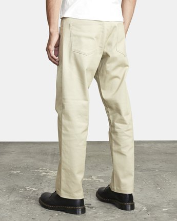 5 NEW DAWN MODERN STRAIGHT FIT PANT Beige M3073RPR RVCA