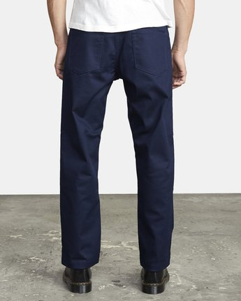 2 NEW DAWN PRESSED PANT Blue M3073RPR RVCA