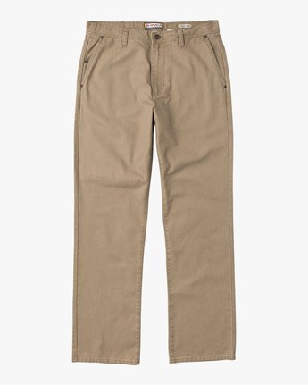 7 Andrew Reynolds Canvas Pant Green M307QRAR RVCA