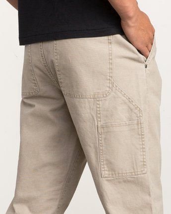 6 Andrew Reynolds Canvas Pant Green M307QRAR RVCA