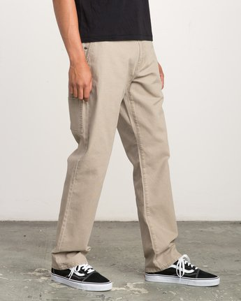 5 Andrew Reynolds Canvas Pant Green M307QRAR RVCA