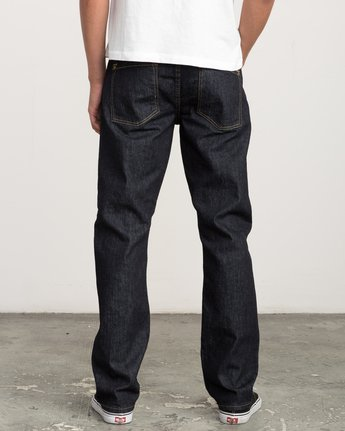 3 Stay RVCA Straight Fit Denim  M307QRSR RVCA