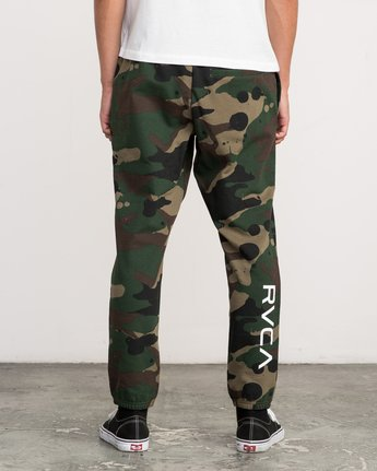 4 Bruce Irons Swift Sweatpant Camo M308PRBS RVCA