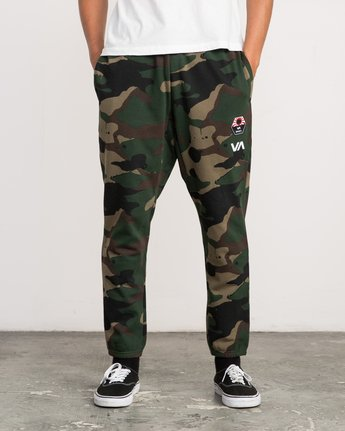 1 Bruce Irons Swift Sweatpant Camo M308PRBS RVCA