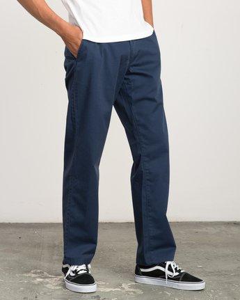 5 Big RVCA Chino Pant Blue M308QRBR RVCA