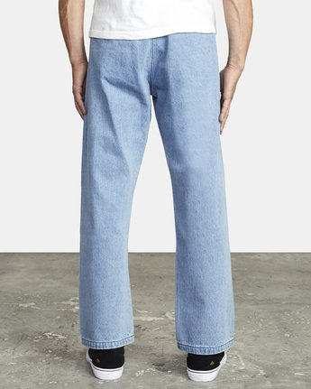 8 AMERICANA RELAXED FIT DENIM Blue M3093RAC RVCA