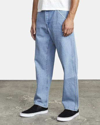 4 AMERICANA RELAXED FIT DENIM Blue M3093RAC RVCA