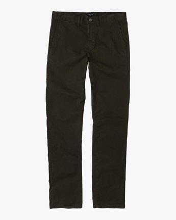5 Daggers Slim-Straight Chino Pant Camo M309QRDC RVCA