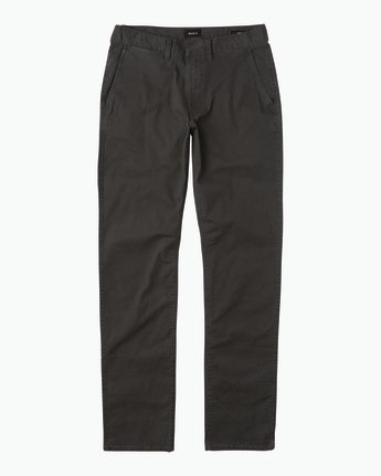 7 Daggers Slim-Straight Chino Pants Black M309QRDC RVCA
