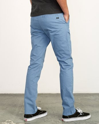 5 Daggers Slim-Straight Chino Pants Red M309QRDC RVCA