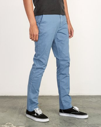 5 DAGGERS SLIM fit PANT Red M309QRDC RVCA