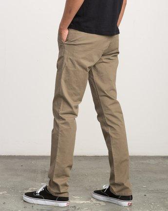 3 Daggers Slim-Straight Chino Pant White M309QRDC RVCA