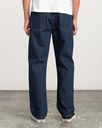 3 Andrew Reynolds Denim Jeans II Green M310QRAR RVCA