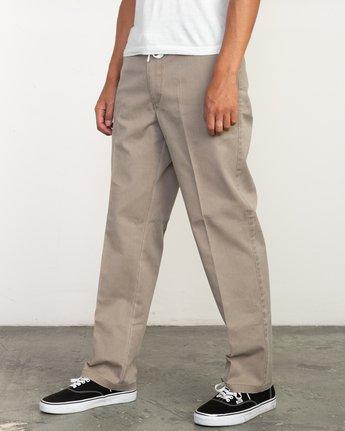 1 Big RVCA Neutral Pants Green M310QRBR RVCA