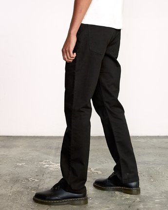 4 WeekEnd 5-Pocket straight fit Pant Black M310VRWP RVCA