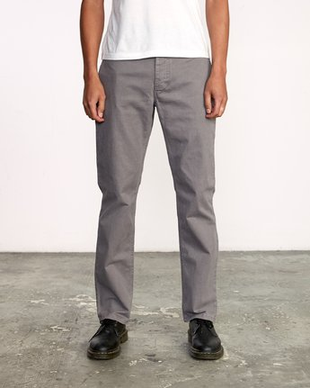 0 Week-End 5-Pocket Pant Grey M310VRWP RVCA