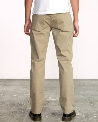 2 WeekEnd 5-Pocket straight fit Pant White M310VRWP RVCA