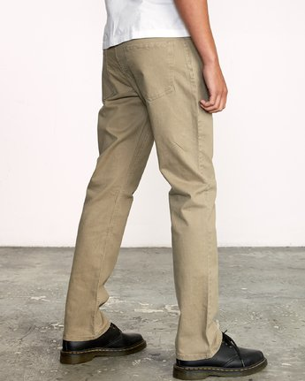 5 WeekEnd 5-Pocket straight fit Pant White M310VRWP RVCA