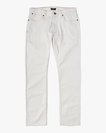 6 DAGGERS SLIM FIT DENIM White M3113RDA RVCA