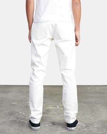 3 DAGGERS SLIM FIT DENIM White M3113RDA RVCA