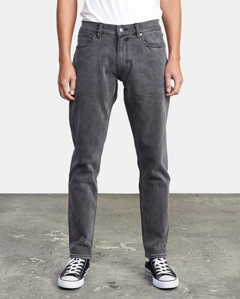 2 DAGGERS SLIM FIT DENIM Grey M3113RDA RVCA