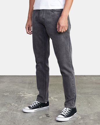 4 DAGGERS SLIM FIT DENIM Grey M3113RDA RVCA