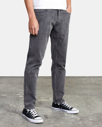 7 DAGGERS SLIM FIT DENIM Grey M3113RDA RVCA