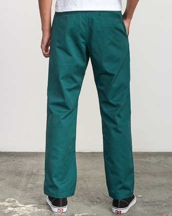 1 Americana Chino Pant Grey M311VRAC RVCA