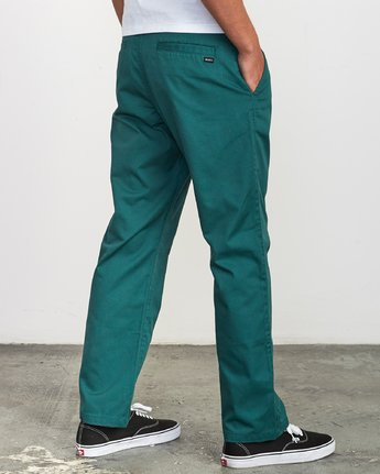 4 Americana Chino Pant Grey M311VRAC RVCA