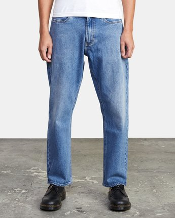 1 NEW DAWN MODERN STRAIGHT FIT DENIM Blue M3123RND RVCA