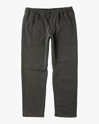 6 Matador Pigment Fleece Sweat Pants Black M312QRMA RVCA