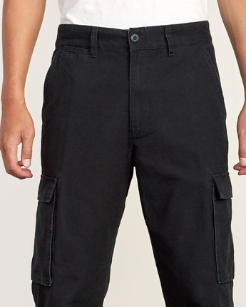 6 Americana relaxed fit Cargo Pant Black M312VRCA RVCA