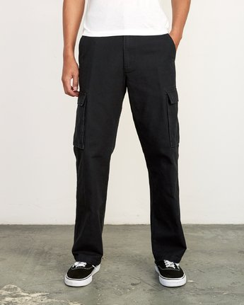 0 Americana relaxed fit Cargo Pant Black M312VRCA RVCA