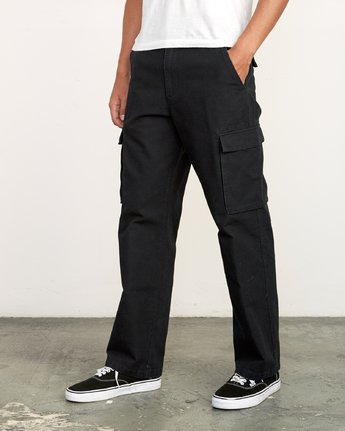2 Americana relaxed fit Cargo Pant Black M312VRCA RVCA