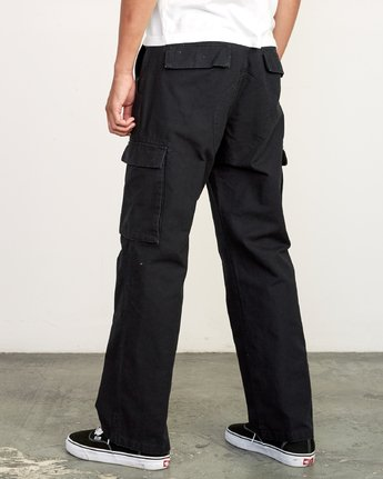 3 Americana relaxed fit Cargo Pant Black M312VRCA RVCA