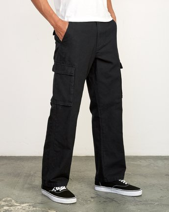 5 Americana relaxed fit Cargo Pant Black M312VRCA RVCA