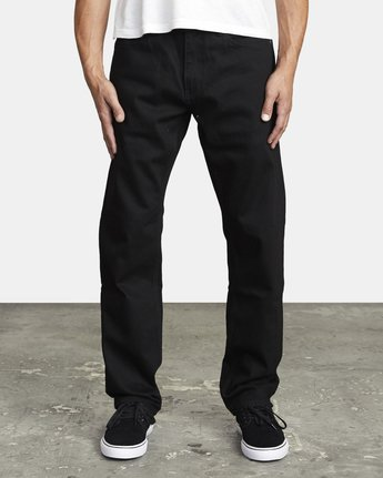 1 WEEKEND STRAIGHT FIT DENIM Grey M3133RWK RVCA