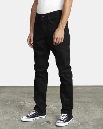 2 ROCKERS SKINNY FIT DENIM Grey M3143RRO RVCA