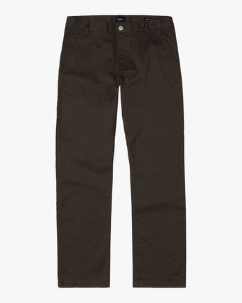 3 WeekEnd Stretch straight fit Pant Brown M314VRWS RVCA