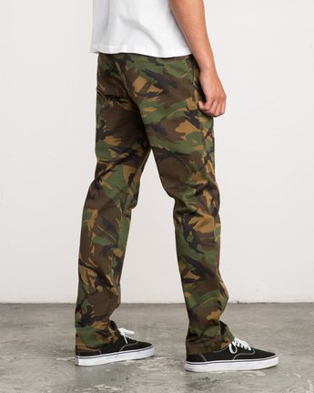5 week-end Stretch straight fit Pant Brown M314VRWS RVCA