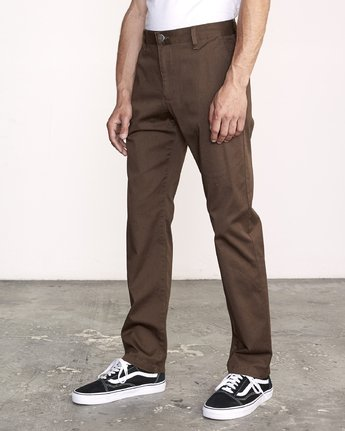 2 Week-End Stretch Pant Brown M314VRWS RVCA